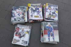 Lot hockey magasine et slapshot