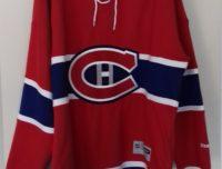 """Trés Beau Maillot Hockey """" Les Canadiens de Montréal """" REEBOK SR REPLICA"""